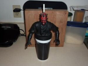 STAR WARS - Darth Maul Collectable Cup + Cup Topper + Straw