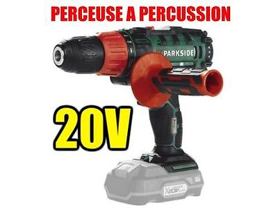 Perceuse A Percussion 20v Batterie Parkside X20V TEAM compatible avec 9 OUTILS usato  Spedire a Italy