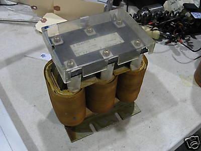 GE Fanuc Line Reactor Transformer, A81L-0001-0123, Used, WARRANTY