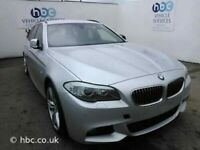 Bmw 5 Series F10 F11 M Sport BREAKING SPARES AIRBAG LEATHER SEATS ALLOY DOORS AXLE HUBS CORNERS
