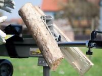 Wood Splitter 6.5 Ton Electric LOG SPLITTER Hydraulic Wood Axe Timber Maul