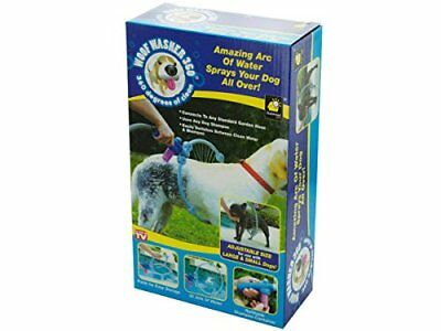 Woof Washer Pet 360 Perfect Dog Washing Adjustable Station Fits any garden hose