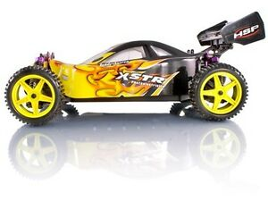 HSP 1/10 Scale RC Electric Buggy Car XSTR Off Road Fast 2.4ghz Remote Controlled