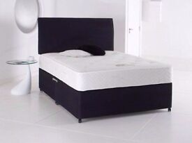 """Cheap Price -- Double Divan Base + 10"""" Orthopaedic Mattress -- Brand New -- Same Day Delivery"""