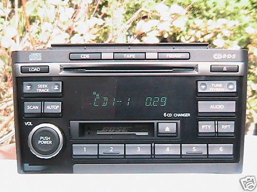 Nissan 6 CD Changer | eBay