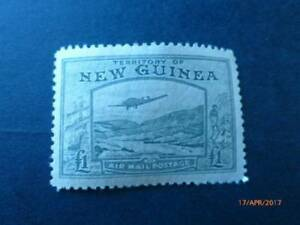 NEW GUINEA 1939 AIR MINT SG 225 £1 OLIVE HIGH CV Burpengary Caboolture Area Preview