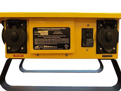 New In Box 6506gu 50a 125250v Spider Box W 20a 125v 5-20 U-ground Outlets