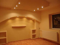 Painting and construction work, plasterboard design