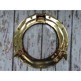 "11"" Brass Porthole Glass / Window ~ Nautical Maritime ~ Cabin Port Hole"