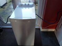 Hotpoint WTL500P Top Loading 5kg Freestanding Washing Machine - Polar White.