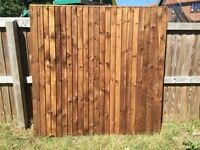 Fence panels top quality 6x6 £29.50