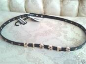 Black Studded Belt TOPSHOP