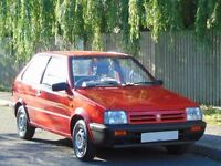 **CLASSIC** 1990 NISSAN MICRA 1.2 GS **LAST LADY OWNER 16 YRS + V/LOW MILES**