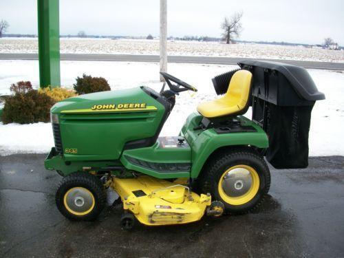 Used John Deere Lawn Tractors Ebay