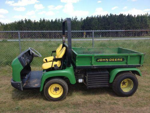 used john deere gator ebay. Black Bedroom Furniture Sets. Home Design Ideas