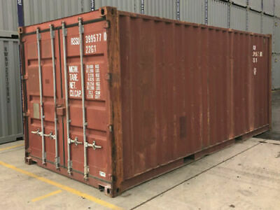 20ft Used Storage Container For Sale Dallas Tx 2600