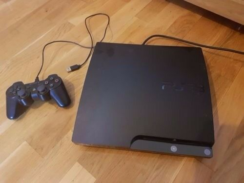 Sony Playstation 3 PS3 Slim 120GB Bundled with 8 AAA Games