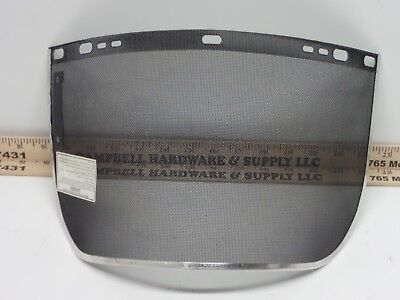 Huntsman Mesh Wire Face Shield Visor 8 X 15 12  Black