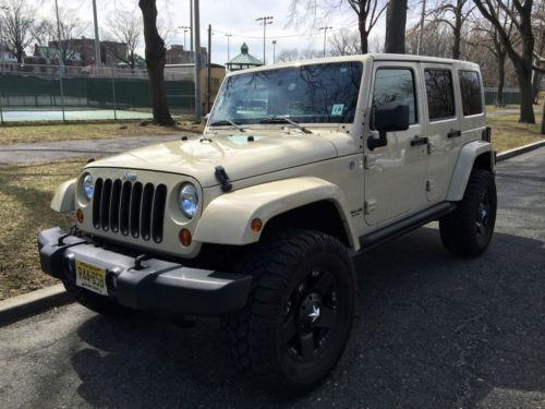 Jeep Jacked Up >> Jeep Wrangler Unlimited 4 Door | eBay