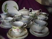 Mis Matched China Tea Set