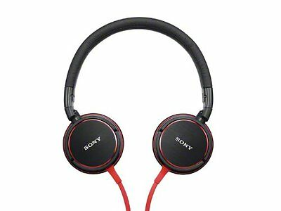 SONY sealed Headphone Red MDR-ZX600 R Japan