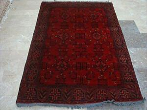 Exclusive Khal Muhamadi Fine Afghan Hand Knotted Rectangle Area Rug Wool Carpet (6.1 x 4.3)'