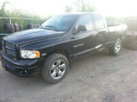 PARTING OUT: 2004 DODGE RAM 1500