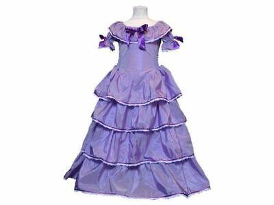 Kinderkleid Kostümkleid Eugenie Kleid Mädchen lila Sissi Scarlett Robe ()