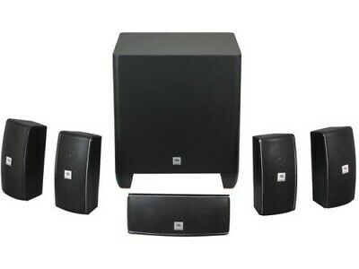 JBL Cinema 610 Advanced 5.1 Home Theater Speaker System with Powered Subwoofer ()