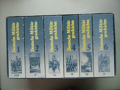 2 Teile 6 Bd. Deutsche Militärgeschichte + 3 Bd. Wehrmachtsgeschichte 1939-1945