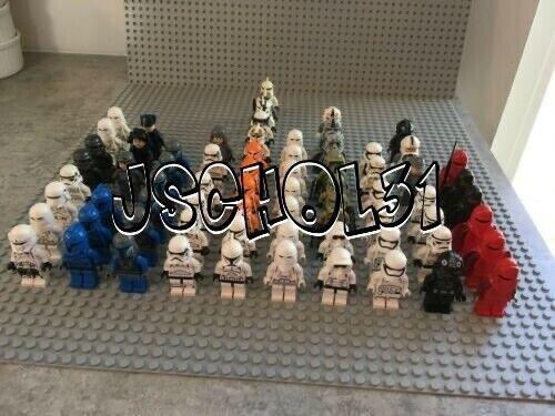 LEGO Star Wars Minifigures Lot -Stormtrooper, Clone Trooper, Imperials -You Pick