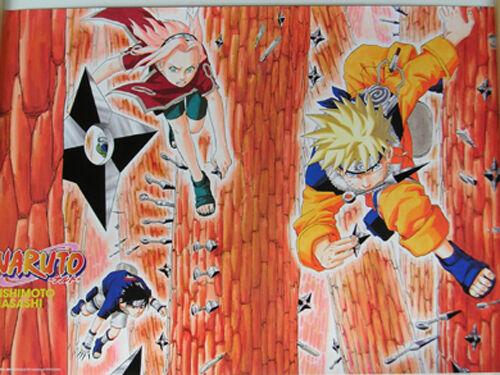 Naruto Manga Poster Paper Anime MINT