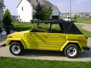 Vw Thing Convertible Top