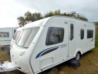 Sterling Eccles Jewel, 4 berth fixed bed, high spec tourer is excellent