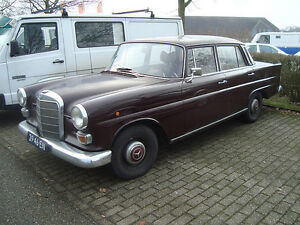 Wanted 1960s old Mercedes for restoration or parts