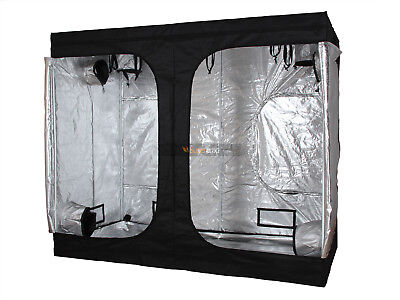 Mylar 8x4x6.5' Hydroponic System Indoor Growing Reflective Grow Tent 600D Plant