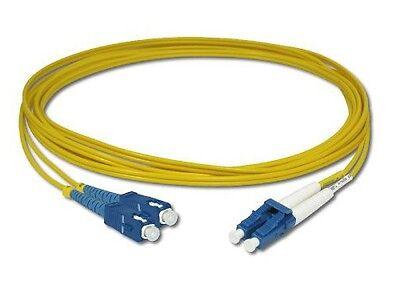 Duplex Fiber Single - 1M Single-Mode Duplex Fiber Jumper Cable SC-LC