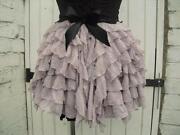 Goth Bustle Skirt