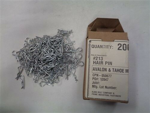 "AVALON TAHOE #213 1 1/8"" HAIR PIN 050677 LOT OF ( 200 )"