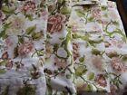Barkcloth Floral Upholstery Craft Fabrics