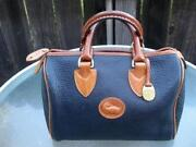 Dooney & Bourke Blue Leather