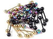Titanium Lip Rings