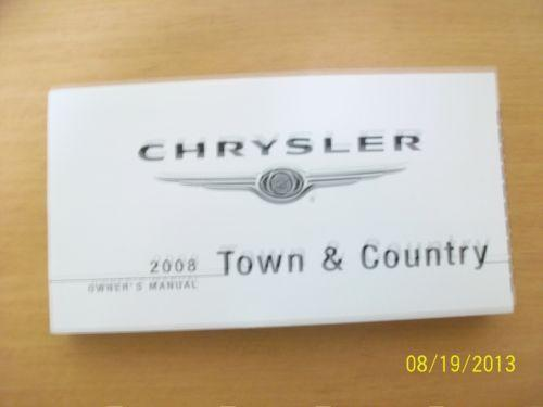 chrysler town and country owners manual ebay. Black Bedroom Furniture Sets. Home Design Ideas