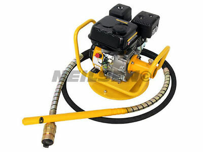 """New 2"""" Petrol concrete poker with 6 meter hose  next day delivery"""