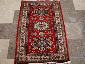 Super Shirvan Kuba Kazak Fine Veg Dyed Wool Hand Knotted Area Rug Carpet 5 X