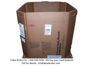 Wanted! Surplus, Obsolete, Overstock, Used/New Corrugated Boxes.