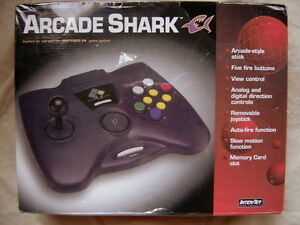 Brand New N64 Arcade Shark Joystick