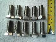 M12 Stainless Bolts