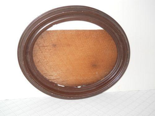 Antique Wooden Oval Picture Frame Ebay