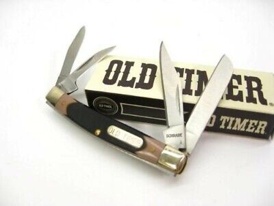 Schrade 44OT Old Timer Saw Cut Workmate 4 Blade Folder Folding Pocket Knife